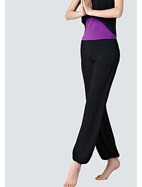 povoljno Sport és outdoor-Žene Nadrágok Sportski Jednobojni Modal Donji Yoga Sposobnost Ples Odjeća za rekreaciju Prozračnost Fitness, trčanje & Yoga