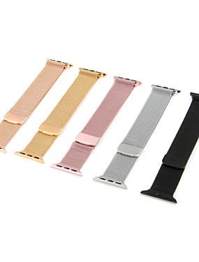 رخيصةأون عصابات Smartwatch-حزام إلى Apple Watch Series 4/3/2/1 Apple عقدة ميلانزية ستانلس ستيل شريط المعصم
