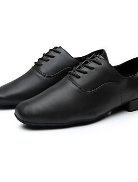 olcso Esküvők & események-Férfi Disznóbőr Latin cipők Sportcipő Személyre szabott sarok Személyre szabható Fekete / Otthoni / EU43