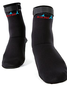 povoljno Sport és outdoor-Čarape za more 3mm Neopren za Odrasli - Visoke čvrstoće Puhaság Ronjenje Surfanje