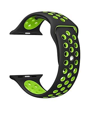 رخيصةأون عصابات Smartwatch-حزام إلى Apple Watch Series 4/3/2/1 Apple عصابة الرياضة سيليكون شريط المعصم