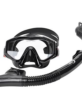 billige Sport og friluftsliv-YON SUB Snorkelpakker Dykking Pakker - Dykkermaske snorkel - Anti-dugg Tørrdrakt - topp Justerbar stropp Svømming Dykking neopren  Til Voksen