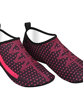 cheap Sports & Outdoors-Water Shoes Elastic Satin for Adults - Anti-Slip Swimming Diving Surfing / Snorkeling