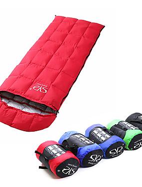 povoljno Sport és outdoor-Sheng yuan Vreća za spavanje Vanjski Pravokutna vreća 5 °C Za jednu osobu Dole ultralight Ugrijati Ultra Light (UL) Sklapanje Jesen Zima za Camping & planinarenje Kampiranje / planinarenje