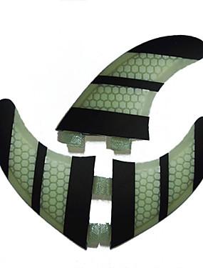 abordables Sports & Loisirs-Srfda Dérives G3 FCS Base Fibre de Verre Aileron Central Aileron gauche Aileron droit Pour Planche de SUP Grandes Planches Petites Planches 3 pcs