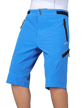 povoljno Sport és outdoor-Arsuxeo Muškarci Kratke hlače za MTB Bicikl Vrećaste hlače Kratke hlače za MTB Hlače Prozračnost Quick dry Anatomski dizajn Sportski Poliester Spandex Vojska Green / Plava / Tamno siva Brdski