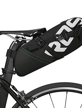 povoljno Sport és outdoor-ROSWHEEL 10 L Bike Saddle Bag Zamišljen Otporno na kišu Vodootporni patent Torba za bicikl Poliester Torba za bicikl Torbe za biciklizam Biciklizam Bicikl