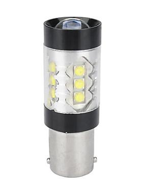 povoljno Svjetla za vožnju unatrag-1156 ba15s 3535 16smd 80w auto bijela prednja kočnica reversing žarulja