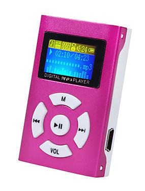 お買い得  MP3プレーヤー-ミニmp3音楽プレーヤー液晶画面サポート32ギガバイトマイクロsd tfカードスポーツファッションブランドの新しいスタイルrechargeab