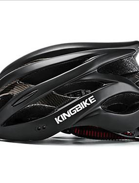 cheap Sports & Outdoors-Kingbike Adults' Bike Helmet 9 Vents CE Impact Resistant Ventilation Insect Net EPS PC Sports Road Bike Mountain Bike MTB Outdoor Exercise - Silver Fuchsia Green Men's Women's Unisex