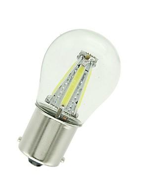 abordables Luces de marcha atrás-1pcs 1156 / 1157 Coche Bombillas 4 W COB 300 lm 4 LED Luz de Intermitente / Luces de freno / Luces de marcha atrás (respaldo) Para Universal Todos los Años