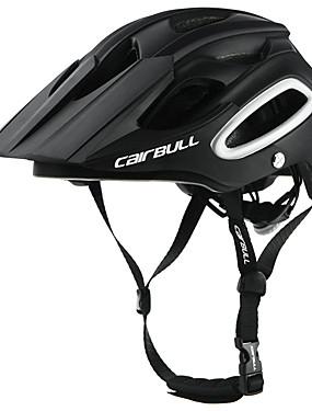 זול ספורט ושטח-CAIRBULL מבוגרים אופני קסדה קסדת BMX 18 פתחי אוורור יצוק אינטגרלי משקל קל רשת חרקים ESP+PC PC ספורט פעילות חוץ רכיבה על אופניים / אופנייים אופנייים - ירוק כחול אפור כהה