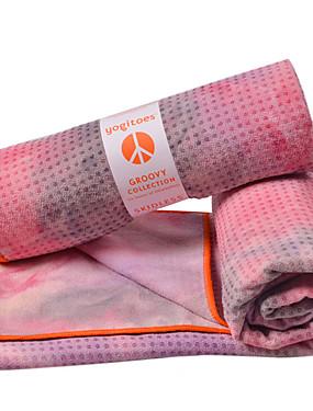 abordables Sports & Loisirs-Couverture de Yoga Antidérapant Ultra léger (UL) fibre Superfine Polyester pour Yoga Usage quotidien Intérieur 183*61 cm Rose