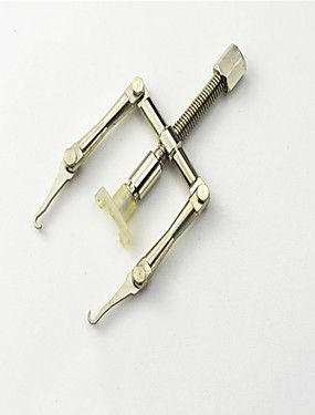 voordelige Nagelscharen & clippers-1 set Roestvast staal Gereedschapstas Voor teen Verwijderbaar / Duurzaam White Series Nagel kunst Manicure pedicure Eenvoudig Dagelijks