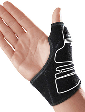 billige Sport og friluftsliv-Beskyttende Redskaper Håndleddsbeskyttelse Justerbar Stretch Håndleddstøtte Ultratynn Stram og bygg muskler Basketball Treningsøkt Vektløfting Til