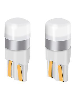 povoljno Svjetla za vožnju unatrag-2pcs t10 w5w auto vodio žarulja 9v-24v 200lm ultra svijetle LED žarulje registarske pločice svjetla / pokazivači smjera / stražnje svjetlo / kupola lampa
