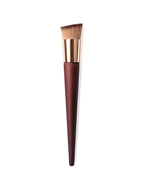 halpa perusta harjat-ammattilainen Makeup Harjat 1 Kappale Mukava Puu varten Poskipunasivellin Alusvoidesivellin Meikkiharja Luomivärisivellin