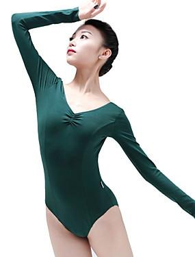 povoljno Vjenčanja i eventi-Balet Leotards Žene Trening Poliester Kombinacija materijala Hula-hopke / Onesie