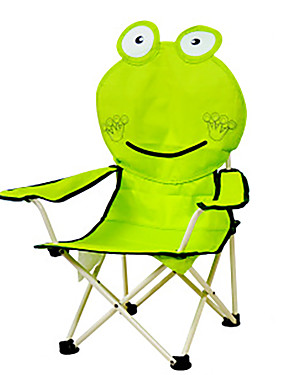 cheap Sports & Outdoors-Camping Chair Portable Anti-Slip Foldable Comfortable Steel Tube Oxford for 1 person Camping Camping / Hiking / Caving Traveling Picnic Autumn / Fall Spring Yellow Green