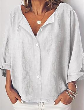 povoljno Ženske majice-Majica Žene - pretjeran Dnevno Jednobojni Obala