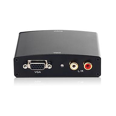 conversor HDMI (r vga + audio / l para HDMI) hcv0101 (smq038)