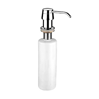 Soap Dispenser Storage Contemporary Stainless Steel 1 pc - Hotel bath