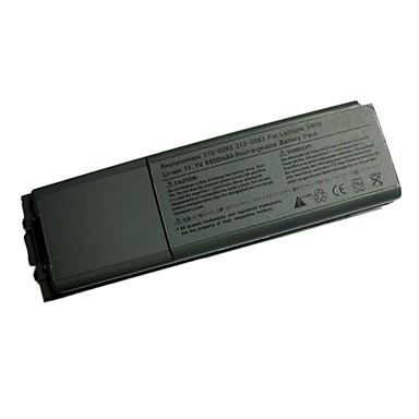 Replacement Dell  Laptop Battery GSD0800 for Latitude D800 Series/8500 Series