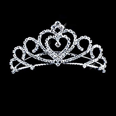 Crystal / Fabric / Alloy Tiaras with 1 Wedding / Special Occasion / Party / Evening Headpiece