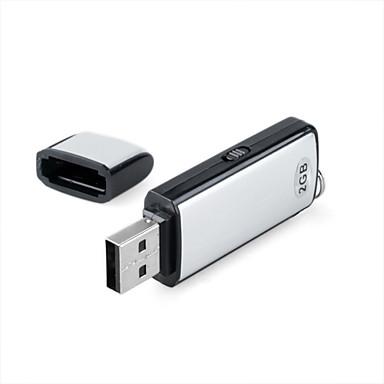2 GB USB-Laufwerk mit HD Voice Recording (kly360)