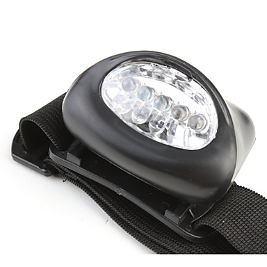 abordables Lampes & Lanternes de Camping-Lampes Frontales 50 lm LED - 5 Émetteurs 1 Mode d'Eclairage Taille Compacte Petit Ultra léger Camping / Randonnée / Spéléologie / Alliage d'Aluminium