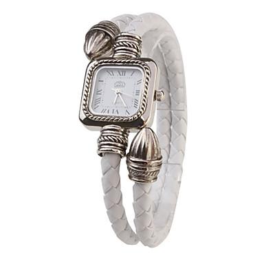 Dámské Módní hodinky Náramkové hodinky Křemenný PU Kapela Bílá Bílá