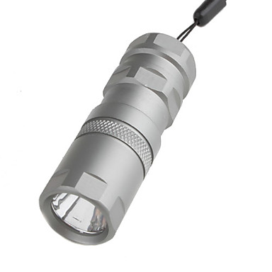 MXDL Lanterne LED / Lanterne  Manuale LED 120 Lumeni 1 Mod - 16340 / CR123A Dimensiune Compactă / Mărime Mică / Tactic / Foarte luminos