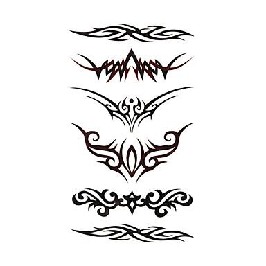 Tattoo Tarra Bodi / varsi väliaikaiset tatuoinnit #(5) Toteemisarja Erityisrakenne / Kertakäyttöinen kehon koristelu Juhlat / Prom
