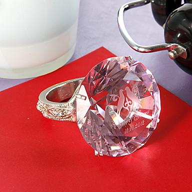 kişiselleştirilmiş kristal peçete halka düğün mağazası düğün teması