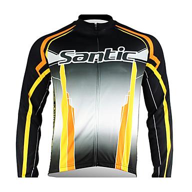santic - herre cykel jakke med 100% polyester vinteren 2011 sort farve