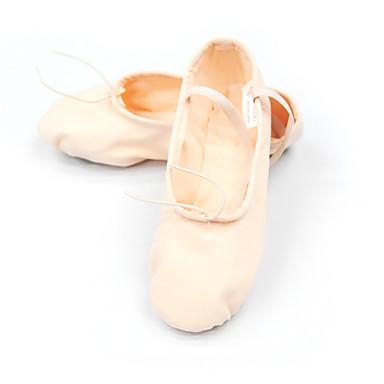 toile chaussures de danse split-semelle ballet pantoufle pour les enfants
