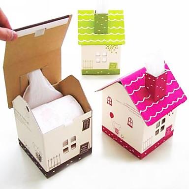 casa de juegos a favor del tejido caja - una variedad de colores