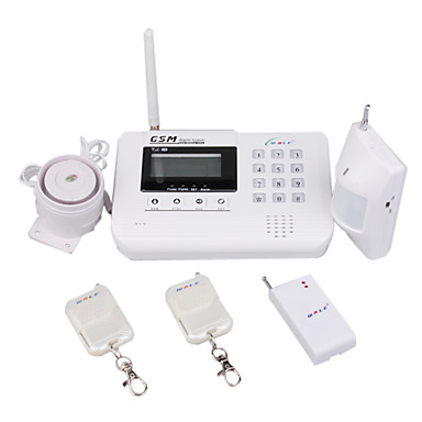LCD Display GSM Security Alarm System with Keypad (Two-Way Intercom)