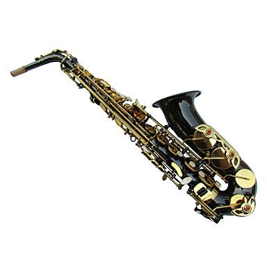 altsaxofoon zwart nikkel plaat