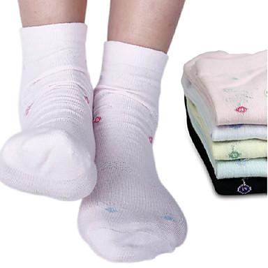 Children Soft Cotton Tube Socks (12 pairs)