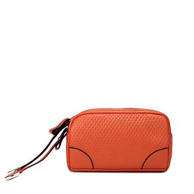 Cowhide Cosmetic Bag(16.5cm*10cm*6cm)