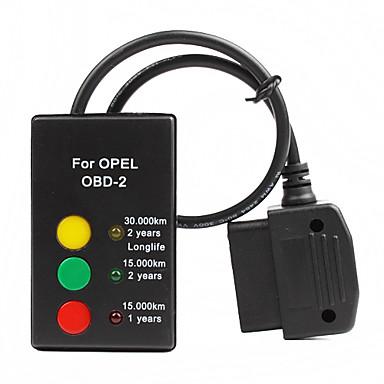 OBD 2 opel öljyä palvelun reset työkalu