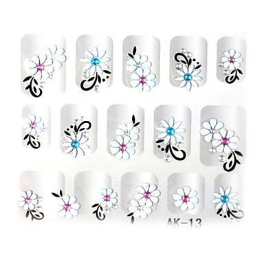3 Nail Art ukras rhinestone biseri šminka Kozmetički Nail art dizajn