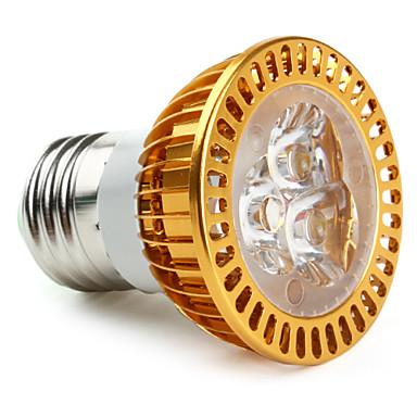 E26/E27 LED-spotlys MR16 3 DIP-LED 280 lm Varm hvid AC 85-265 V