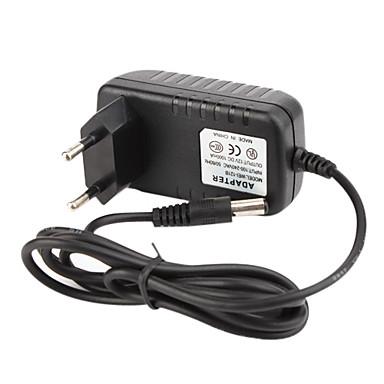 cctv sistema de alimentação do adaptador + AC 100 ~ 240V 50/60Hz entrada de dc de saída 1000mA 12v + padrão da UE