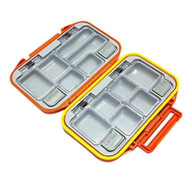 Waterproof Double Tackle Box (12 Spaces)