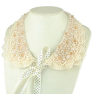 elegent perle collier collier dentelle (45cm)