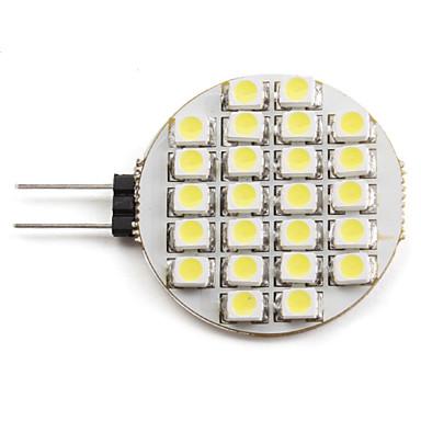 2 W 6000 lm G4 LED-spotlys 24 LED Perler SMD 3528 Naturlig hvid 12 V