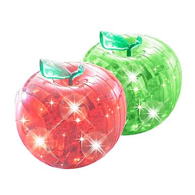voordelige 3D-puzzels-Legpuzzels 3D-puzzels Kristallen puzzels Bouw blokken DHZ-speelgoed Apple