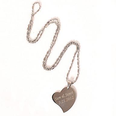 Trendy Simple Design Heart Necklace